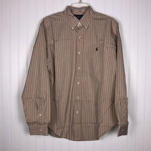 EUC Ralph Lauren Classic Long Sleeve Button Down M